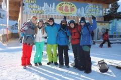 Warming-up snowboardles